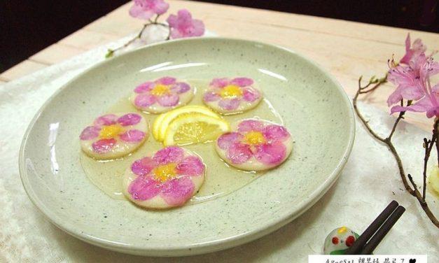 Makanan Korea Khas Musim Semi, Kue Beras dengan Bunga Azalea