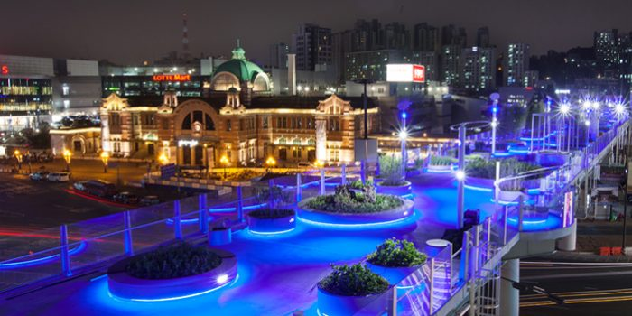 Jembatan Taman 'Seoullo 7017' Telah Dikunjungi oleh 10 Juta Pengunjung