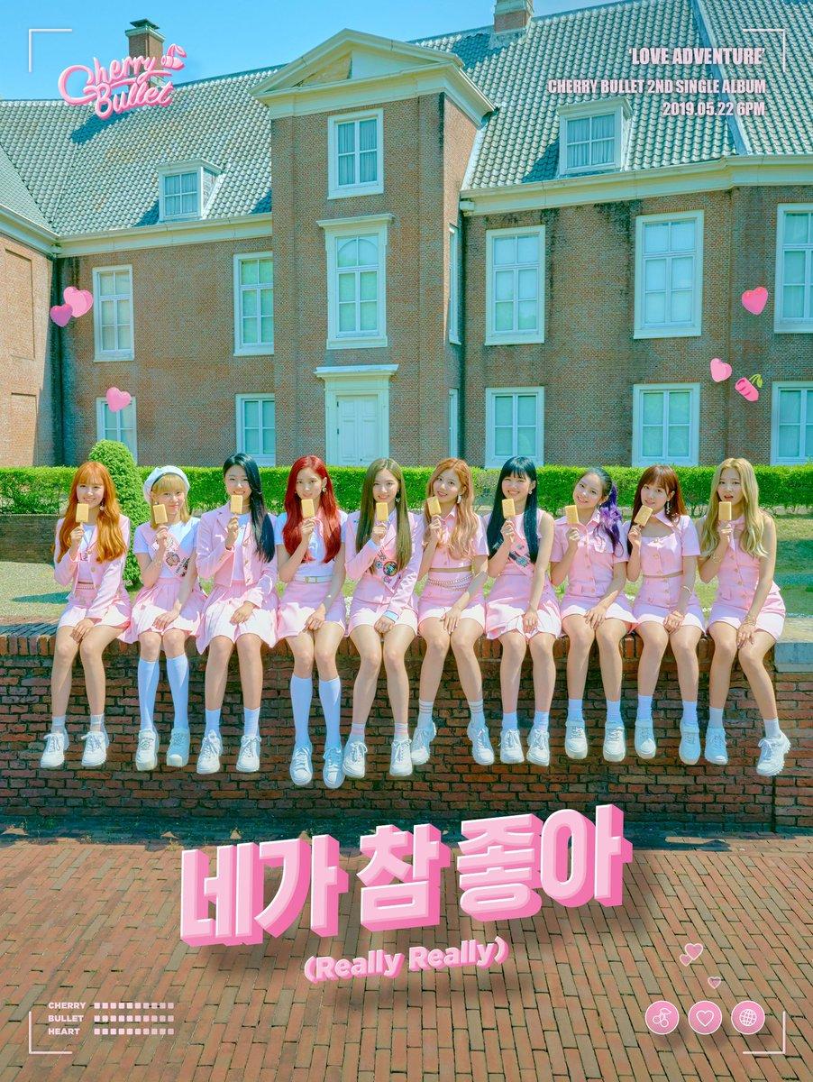 cherry bullet akan comeback dengan single album  u201clove adventure u201d  u2013 koreanindo